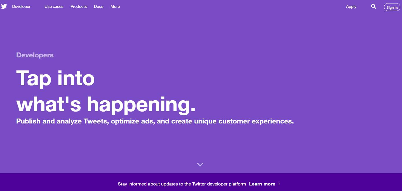 Twitter Developer Platform