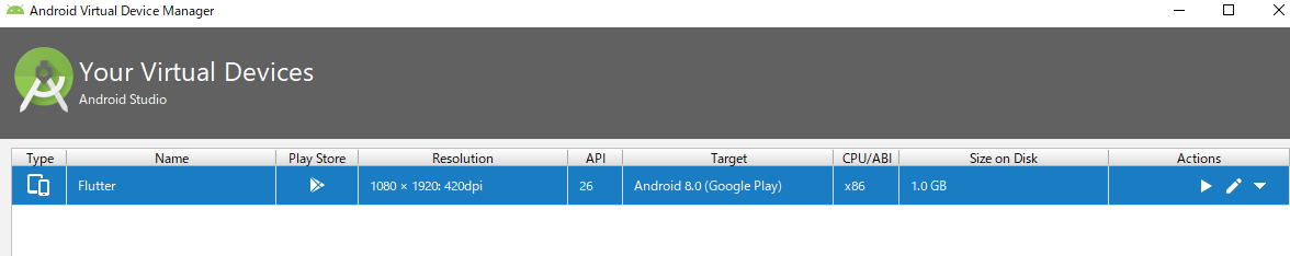 android-studio-virtual-device-flutter