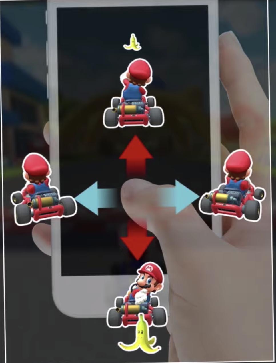マリオカートツアー - 操作方法1